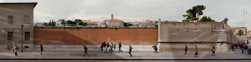 Quo Vadis, 2013, 50 x 200 cm (Rom)