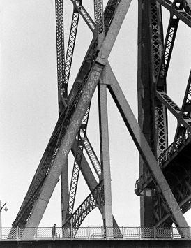 New York, Williamsburg Bridge, 1962