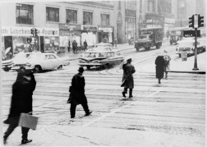 New York, Midtown Manhattan, 1962 klein